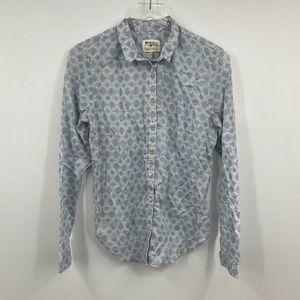 Holding Horses Shirt S Chambray Blue Button Up